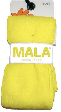 Mala Stockings, Light Yellow