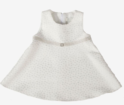 Mingnelin Nora Baby Dress, Off White
