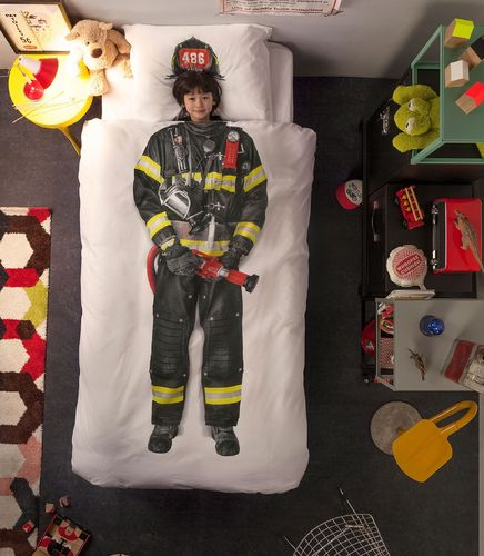 Snurk Firefighter Duvet Cover