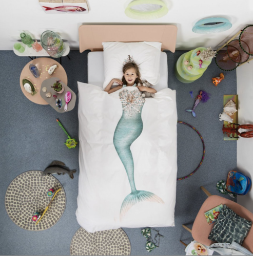 Snurk Mermaid Duvet Cover