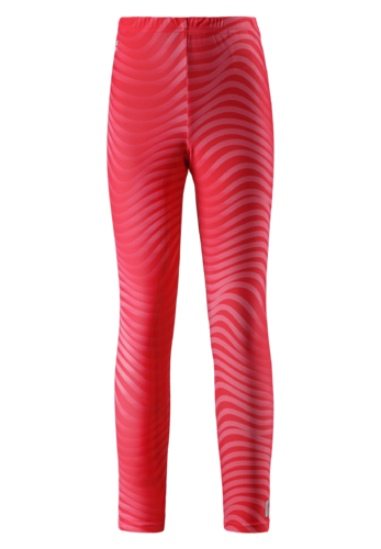 Reima Curuba UV Leggingsit, Bright Red
