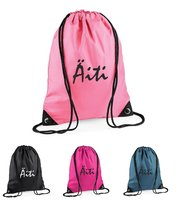 SPORT BAGS with name/ text