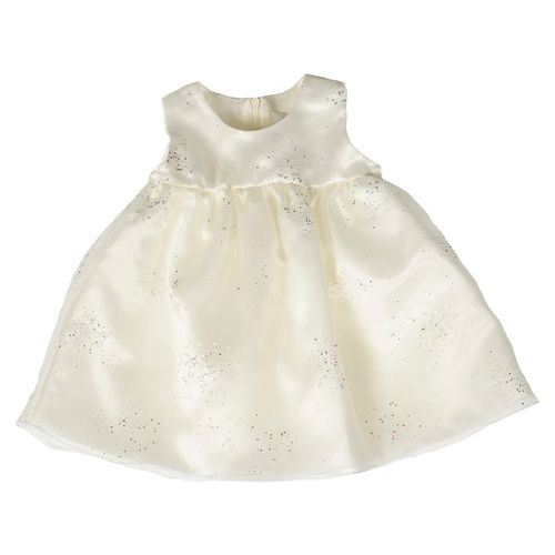Mingnelin Baby Organza Dress, Off White