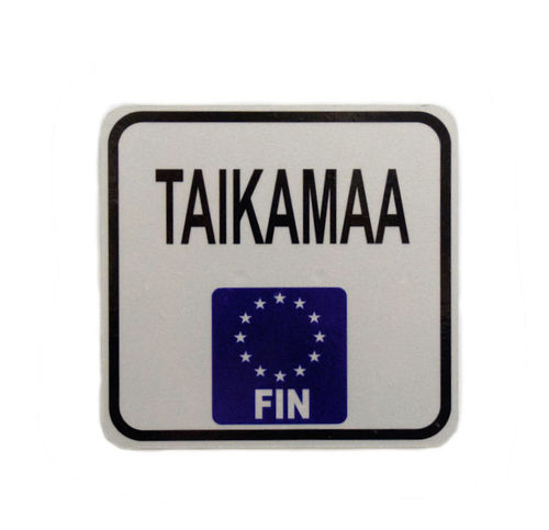 EU License Plate for Bike