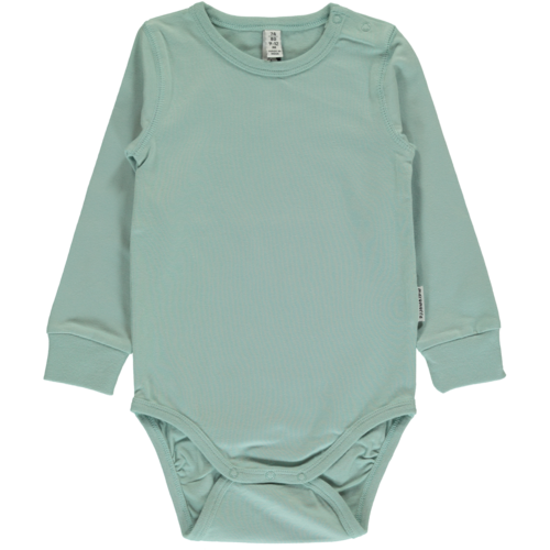 Maxomorra Ls Body, Pale Blue