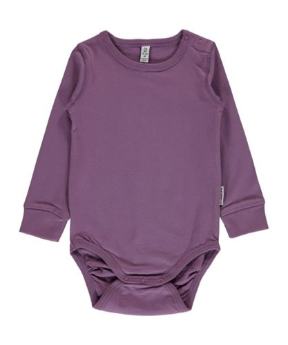 Maxomorra Ls Body, Dusty Purple