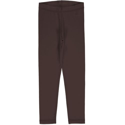 Maxomorra Leggings Solid Chocolate
