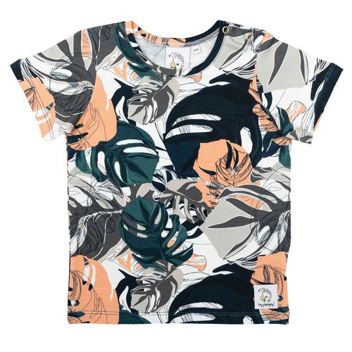 Hey Popinjay T-Shirt, Camo Leaves
