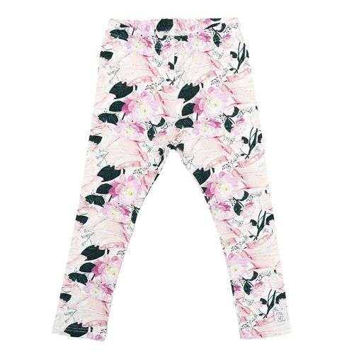 Hey Popinjay Leggings, Roses