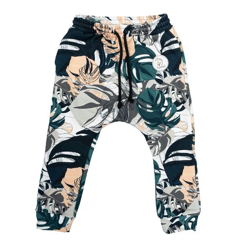 Hey Popinjay Baggy Pants, Camo Leaves