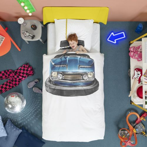 Snurk Bumber Car Duvet Cover