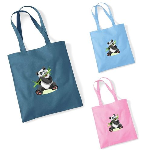 Taikamaa Panda Fabric Bag