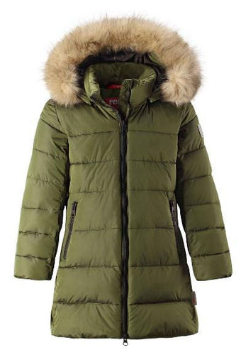 Reima Winter Jacket Lunta, Khaki Green