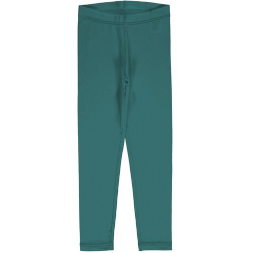 Maxomorra Leggings Solid Teal
