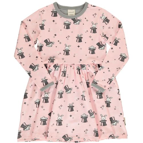 Maxomorra Magic Rabbit Ls Dress