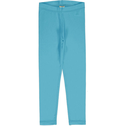Maxomorra Leggings Solid, Sky
