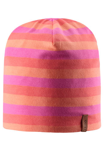 Reima Tanssi Reverse Beanie, Candy Pink