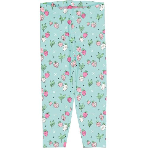 Meyadey Leggings Cropped Strawberry Fields
