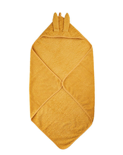 Pippi Hooded Towel, Mineral Yellow