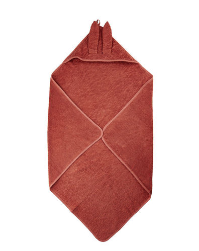 Pippi Hooded Towel, Marsala