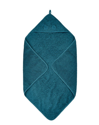 Pippi Hooded Towel, Iceblue