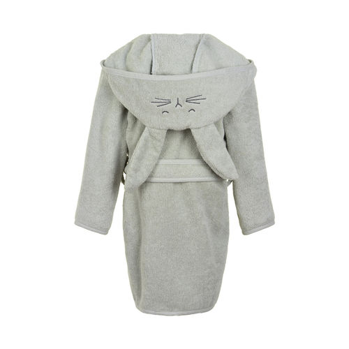 Pippi Hooded Bath Robe, Harbor Mist