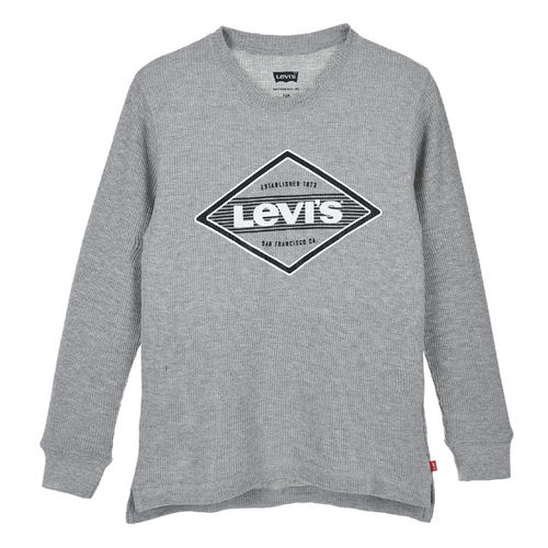 Levis Rib T-Shirt, Grey Heather