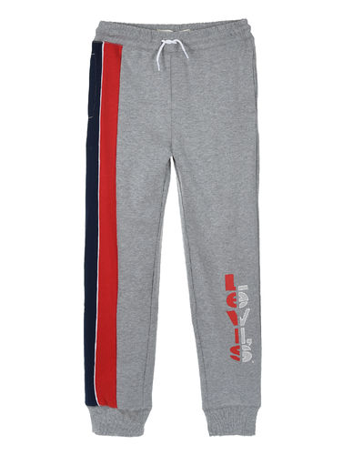 Levi`s Striped Jogger, Grey Heather