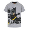 Lego Wear Batman T-Shirt, Grey Melange