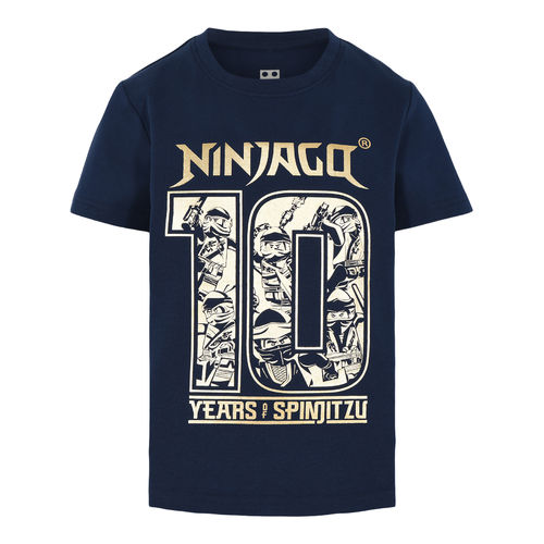 Lego Wear Ninjago 10 Years T-Shirt, Dark Navy