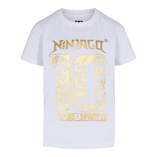 Lego Wear Ninjago 10 Years T-Shirt, White