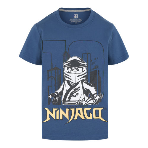 Lego Wear Ninjago 10 Years T-Shirt, Dark Dusty Blue