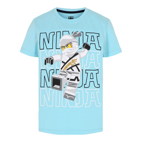 Lego Wear Ninjago Ninja T-Shirt, Light Turquoise